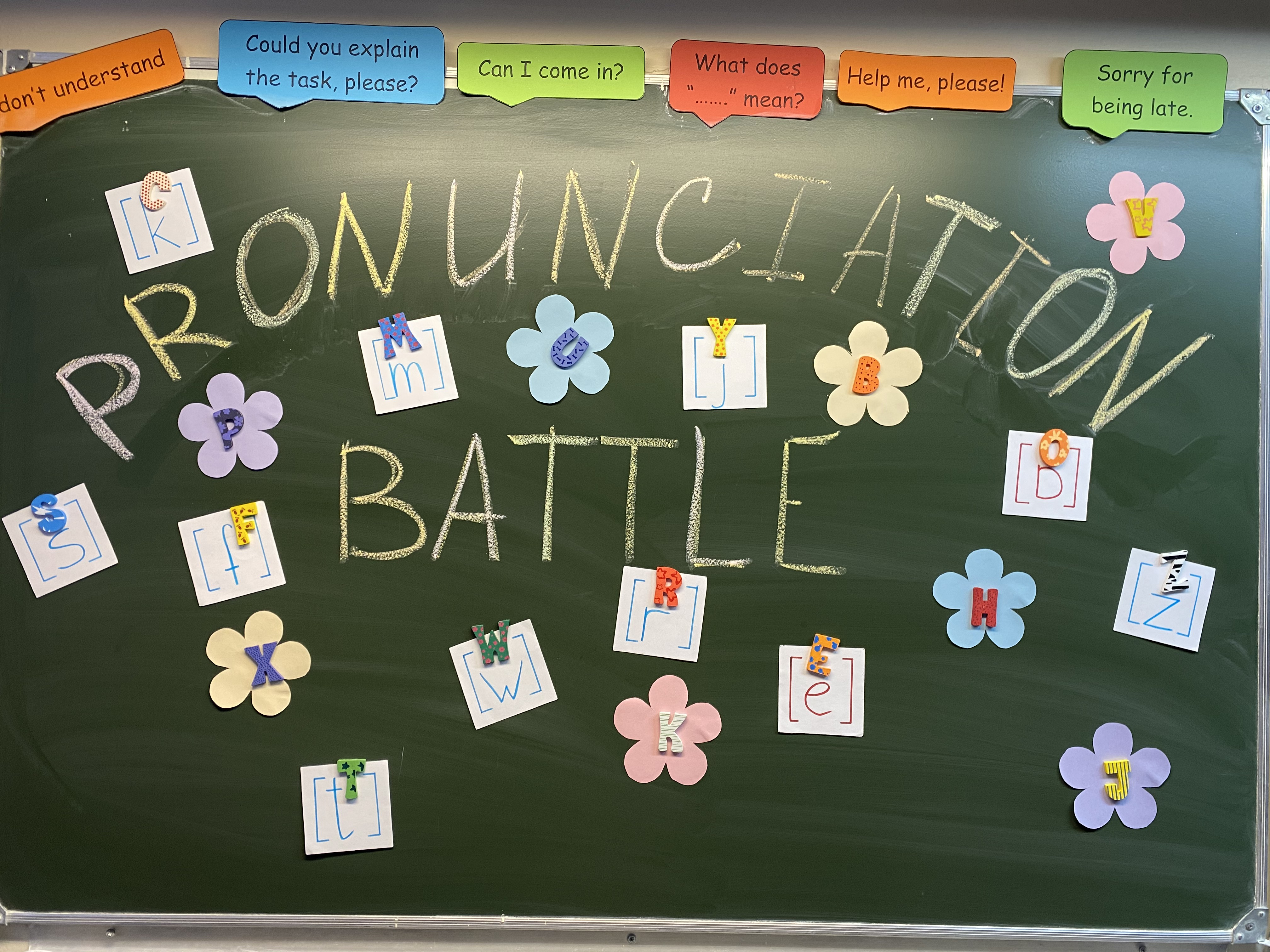 Pronunciation battle